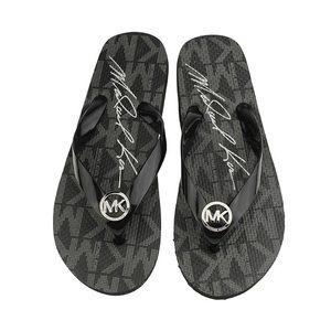 Michael Kors Signature Flip Flops
